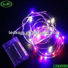 LK copper string light long lasting battery led lights