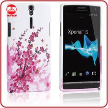 High Quality Plam Flower Custom Xperia S Lt26i Case Cover