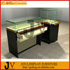 multifunctional storage lighted glass cell phone display case