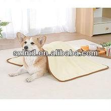 USB warm heated electrical plush animal shaped pet bed