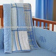 crib set (dot,check,line )