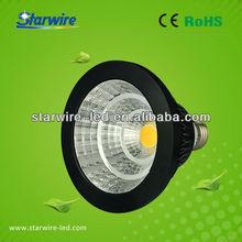 High bright CRI 80 cost-efficiency E27 12w COB Par38 led bulb CE ROHS