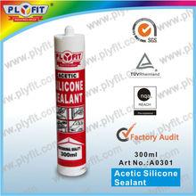 acetic acid multipurpose silicone sealant