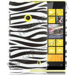 Ultra Thin Zebra Pattern PC Hard Case for Nokia Lumia 520