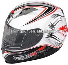 ABS flip up motorbike helmet