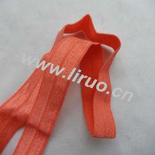"5/8"" print fold over elastic tape"
