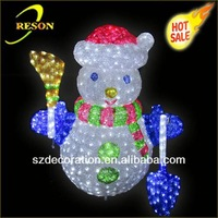 CE ROHS RS-snowman02 2013 christmas gift pico projector led free gift