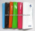 2013 New Design Plastic Travel Document Wallet