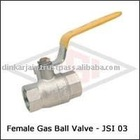 Forged Brass female gas ball valve