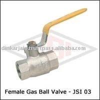Forged Brass female gas ball valve