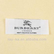 elegant woven label