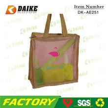 Custom Eco Mesh Women Shopping Bag DK-AE251