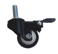 w40-63 63mm black push cart caster wheels