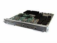 Cisco Supervisor Engine 720 - 1 x 10/100/1000Base-T Uplink - 1 x SFP (mini-GBIC) Shared, 1 x SFP (mini-GBIC) , 2 x CompactFlash