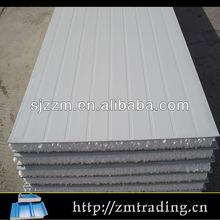50 75 150 200mm metal roof wall steel eps aluminum sandwich panel