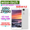 "2013 Factory price for 6"" ZOPO 990 MTK6589T Quad core smart phone 1.5GHZ 1G/16G ram 2G/32G rom"