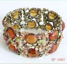 new design bridal colorful crystal bangle