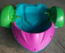 paddler boat, kiddie boat, plastic boat, aqua boat, pedal boat