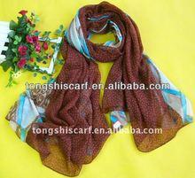 HD335-040 lace hijab scarf