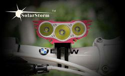 Solarstorm X3 2200 lumen light led bike