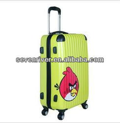 2015 the newest arriver Clear Super Light Four wheel 360 PC +ABS trolly luggage,boarding luggage,trunk box
