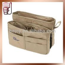 Factory OEM New Design Purse Organiser Bag in Bag, 2 Main Pockets Wholesale (OB0440)