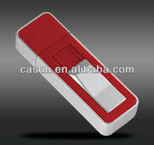 custom 2 in 1 high quality rechargeable usb lighter with usb flash drive