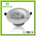 low carbon green OEM 5W,,10W cob LED downlight with CE ROHS FCC
