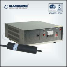 handheld ultrasonic transducer welding metal and plastic welding