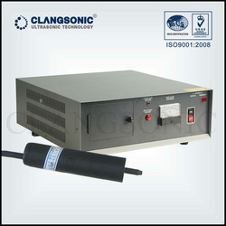 handheld ultrasonic transducer welding metal and plastic welding