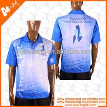 Digital printing men's polo shirt and T shirt