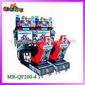 2013( السيد-- qf200-- 4) آلة متعة التسلية 2 ماريو سباق سباقات السيارات