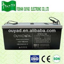 enviroment friendly battery Deep Cycle Battery 12v 150ah