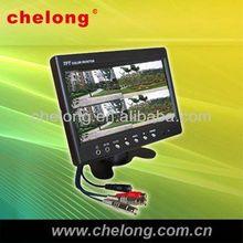 7'' CCTV LCD monitor 20 inch car monitor