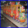 outdoor playground kids game entertainment amusement ride track train
