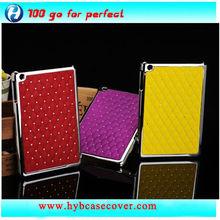 mobile phone cover for ipad 4,rhinestone case for ipad 4