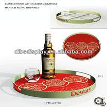 2013 Hot sale beverage serving tray