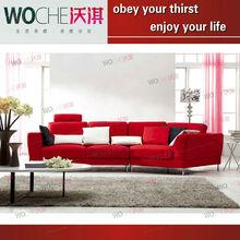 Fashion leisure sofa 2012 sofa new design sofa microfiber leather(WQ6901) new design leather chaise lounge