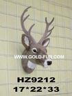 grey reindeer head,artificial reindeer head,wall-mounted reindeer head, reindeer head decoration