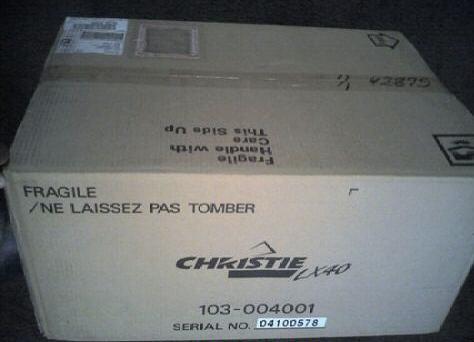كريستي Lx40 بروجكتور شاشات الكريستال السائل HDTV مسرح