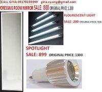 Flourescent lights
