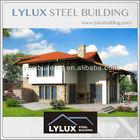 Panelized homes, Prefab houses,New designed luxury light steel model villa