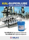 Screw Compressor Oil ( KAL-SUPERLUBE 46 )