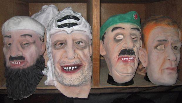 making foam latex masks