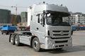 Remorque de camion tracteur de camion lourd commerçant.