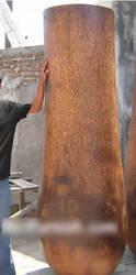 Palm / Coconut Tree Trunk Pot Vase Planter Bowl