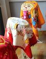 100% poliéster minky suave manta para bebés