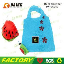 Fruit Waterlemon Cartoon Rose Reusable Foldable Shopping Bag DK-CS357
