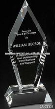 Noble Crystal Fremont Peak Award Trophy