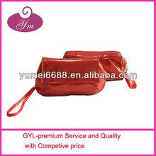 NEW COME soft red PU make up bag hanger